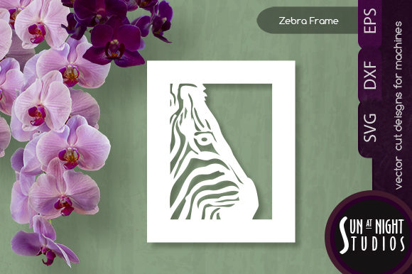 Download Free Zebra Vector Cuts Graphic By Sun At Night Studios Creative Fabrica for Cricut Explore, Silhouette and other cutting machines.
