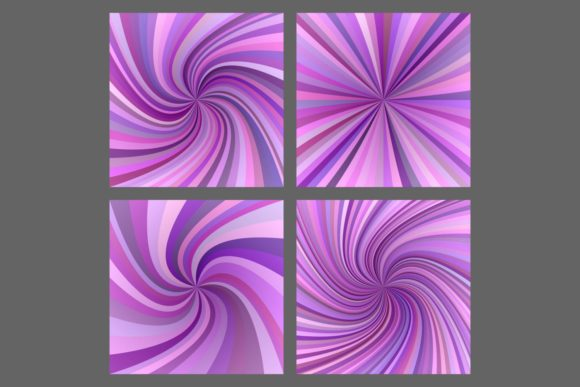 4 Spiral, Ray Burst Backgrounds Graphic Backgrounds By davidzydd