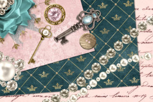 Print on Demand: Baubles and Treasures Graphics Graphic Illustrations By Digital Curio 2