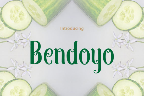 Print on Demand: Bendoyo Script & Handwritten Font By da_only_aan
