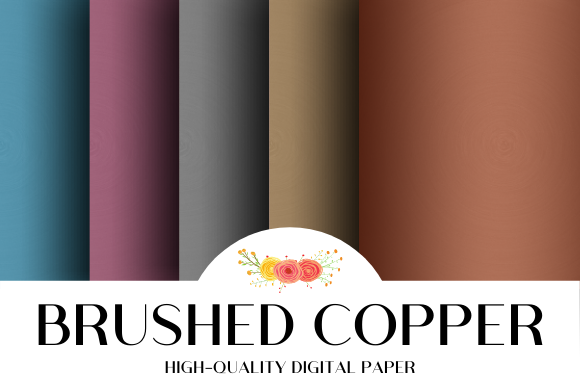 Download Free Brushed Copper Texture Background Graphic By Atlasart Creative for Cricut Explore, Silhouette and other cutting machines.