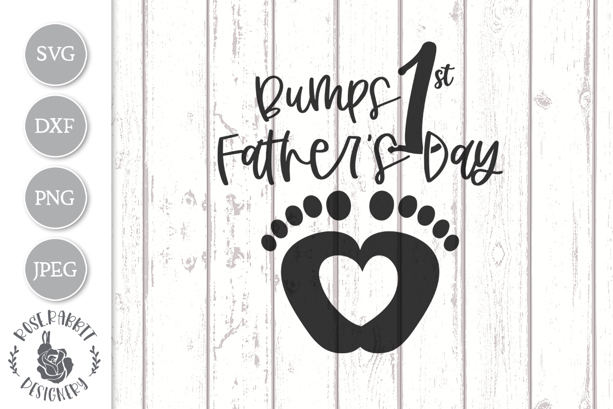 Download Free Bumps 1st Father S Day Graphic By Rose Rabbit Designery for Cricut Explore, Silhouette and other cutting machines.