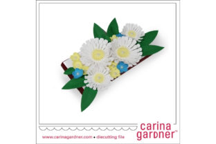 Daisy Candy Bar Bouquet Graphic 3D SVG By carina2