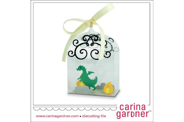 Download Free Dragon In A Bottle Graphic By Carina2 Creative Fabrica for Cricut Explore, Silhouette and other cutting machines.