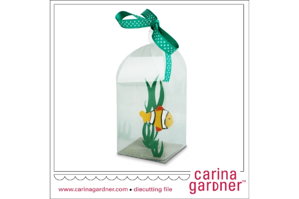 Download Free Fishy In A Bottle Graphic By Carina2 Creative Fabrica for Cricut Explore, Silhouette and other cutting machines.