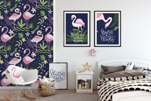 Print on Demand: Flamingo - Big Summer Collection Graphic Illustrations By Red Ink - Image 12