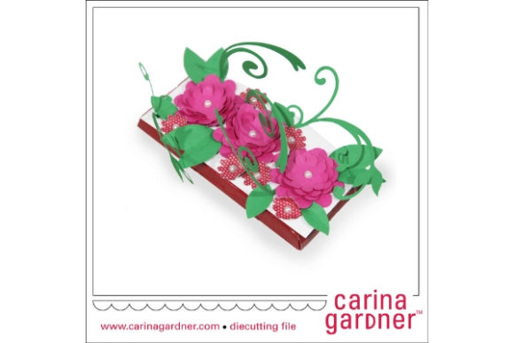 Flourish Candy Bar Bouquet Graphic 3D SVG By carina2