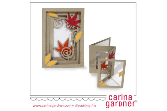 Download Free Flourish Leaves Accordion Card Graphic By Carina2 Creative Fabrica SVG Cut Files