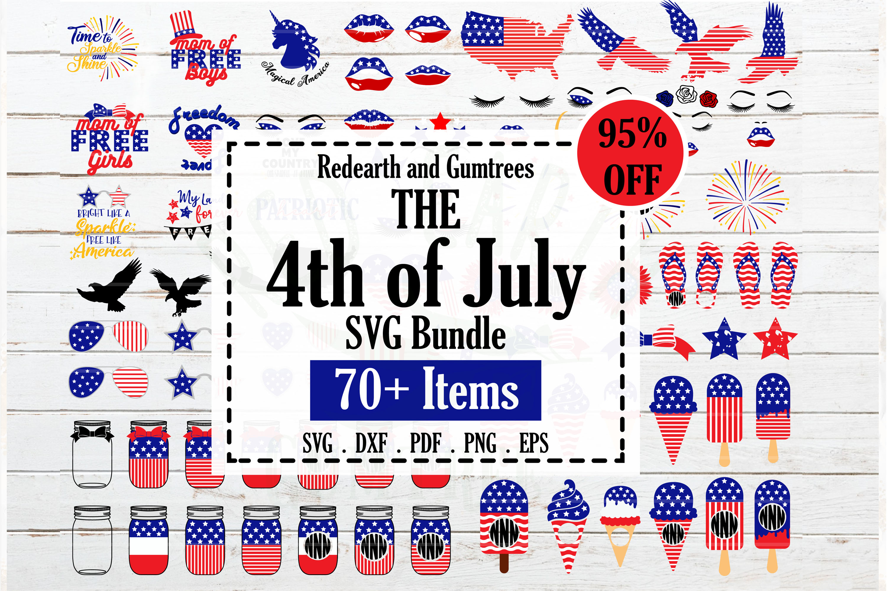 Fourth Of July Bundle Graphic By Redearth And Gumtrees