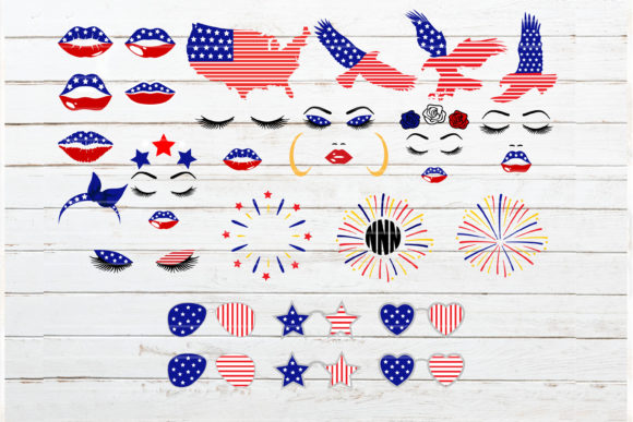 Fourth of July Bundle Graphic Crafts By redearth and gumtrees - Image 3
