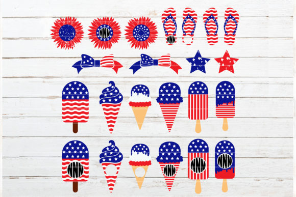 Fourth of July Bundle Graphic Crafts By redearth and gumtrees - Image 5