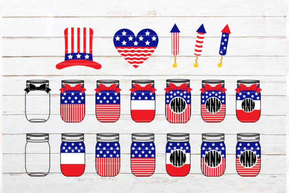 Fourth of July Bundle Graphic Crafts By redearth and gumtrees - Image 6