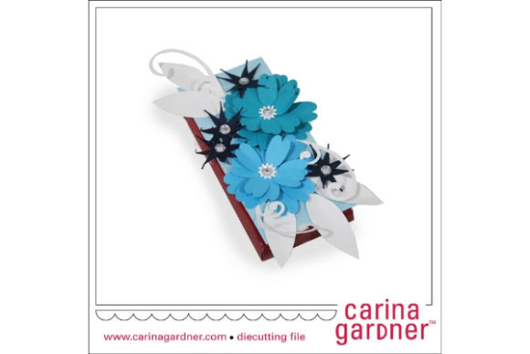 Garden Candy Bar Bouquet Grafik 3D SVG von carina2