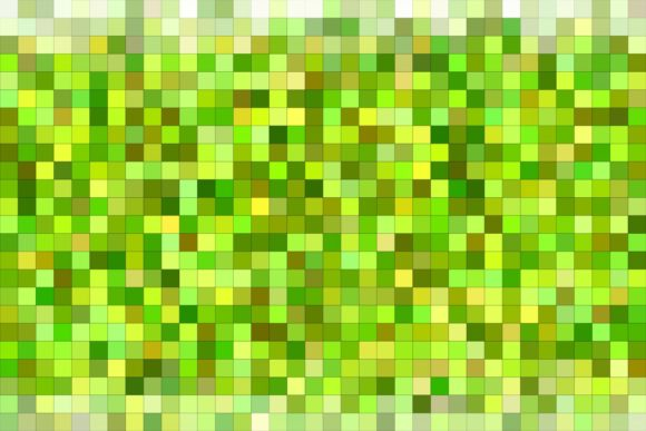 Green Colorful Square Mosaic Background Graphic Backgrounds By davidzydd