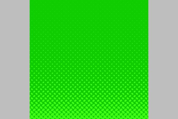 Download Free Green Halftone Pattern Background Graphic By Davidzydd for Cricut Explore, Silhouette and other cutting machines.
