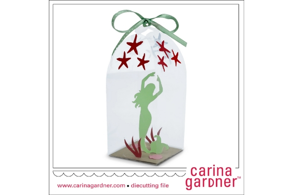 Download Free Green Mermaid In A Bottle Graphic By Carina2 Creative Fabrica for Cricut Explore, Silhouette and other cutting machines.
