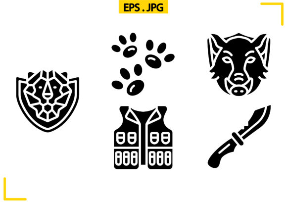 Download Free Hunting Solid Graphic By Raraden655 Creative Fabrica for Cricut Explore, Silhouette and other cutting machines.