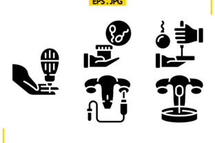 In Vitro Solid Graphic Icons By raraden655
