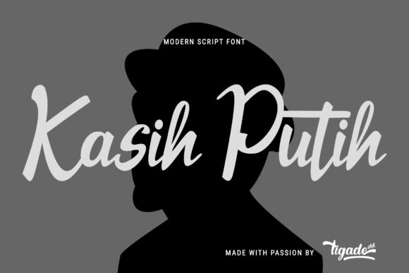 Download Free Kasih Putih Font By Tigade Std Creative Fabrica for Cricut Explore, Silhouette and other cutting machines.