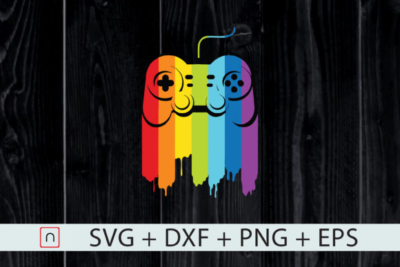 Download Free Lgbt Gaymer Gay Video Gamer Player Graphic By Novalia for Cricut Explore, Silhouette and other cutting machines.