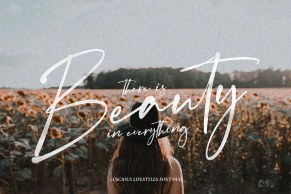 Print on Demand: Luscious Lifestyle Duo Script & Handwritten Font By Salt & Pepper Designs - Image 3