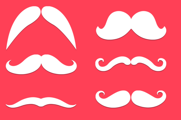 Moustache Face Mask Designs Files Graphic By Craft N Cuts