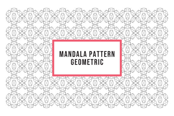 Download Free Pattern Mandala Ornaments Graphic By Luckup Creative Creative for Cricut Explore, Silhouette and other cutting machines.