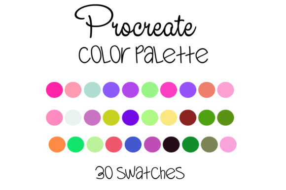 Download Free Procreate Color Palette 008 Graphic By Sweetdesign Creative for Cricut Explore, Silhouette and other cutting machines.