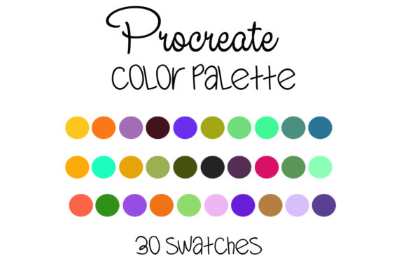 Download Free Procreate Color Palette 010 Graphic By Sweetdesign Creative for Cricut Explore, Silhouette and other cutting machines.
