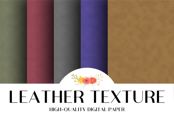 Print on Demand: Regular Leather Fabric Texture Vol.2 Graphic Textures By atlasart