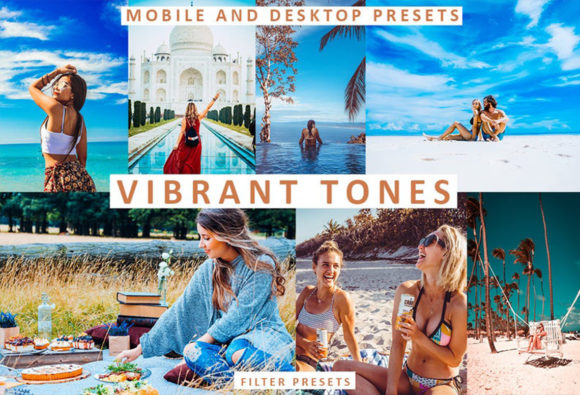 Download Free Travel Vibrant Tones Lightroom Presets Graphic By Thiago Vibesp for Cricut Explore, Silhouette and other cutting machines.
