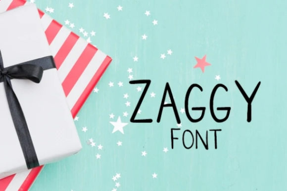 Zaggy Font Free Download