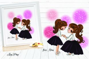 Print on Demand: Mother Love Me Graphic Illustrations By Suda Digital Art
