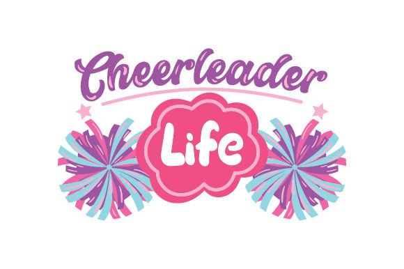 Cheerleader Life Sport Plotterdatei von Creative Fabrica Crafts