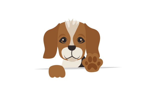 Cute Beagle Hunde Plotterdatei von Creative Fabrica Crafts