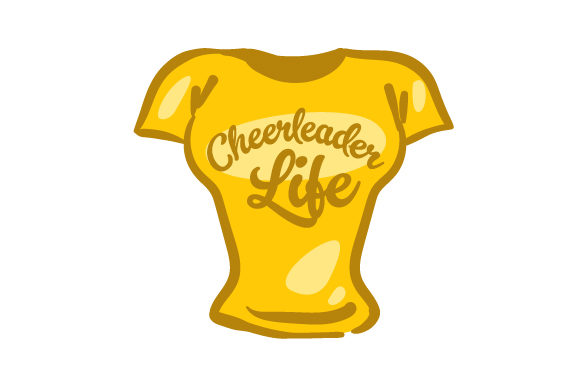 Download Free Cheerleader Life Svg Cut File By Creative Fabrica Crafts for Cricut Explore, Silhouette and other cutting machines.