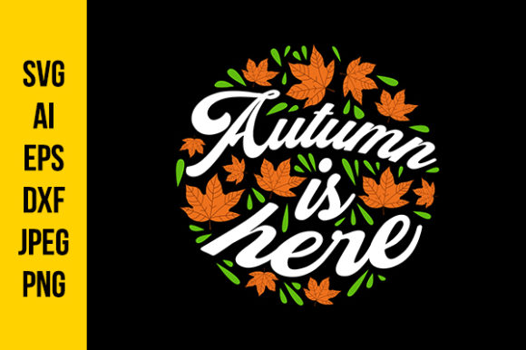 Download Free Autumn Quotes Graphic By Tosca Digital Creative Fabrica for Cricut Explore, Silhouette and other cutting machines.