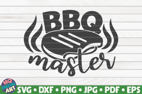 Download Free Bbq Master Barbecue Quote Graphic By Mihaibadea95 Creative for Cricut Explore, Silhouette and other cutting machines.