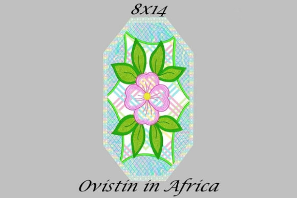 Blue Floral Applique Placemat Sewing & Crafts Embroidery Design By Ovistin in Africa
