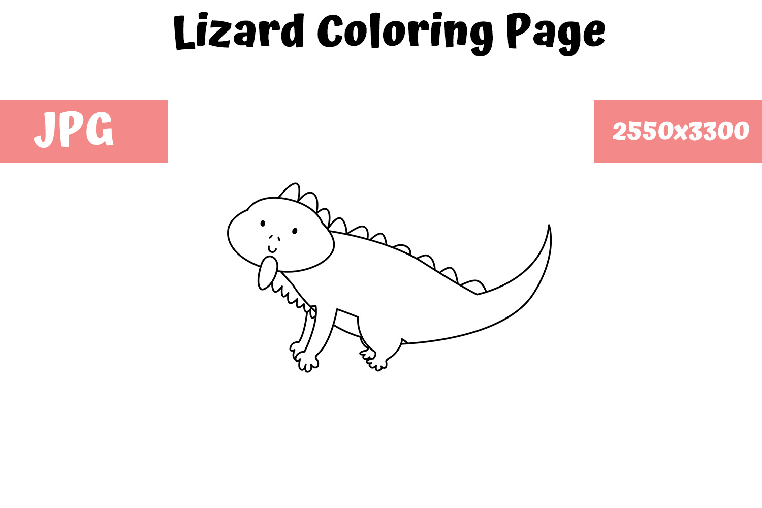 Reptile Coloring Pages - Free Printable - Easy Peasy and Fun | 1000x1500
