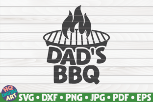 Download Free Dad S Bbq Barbecue Quote Graphic By Mihaibadea95 Creative for Cricut Explore, Silhouette and other cutting machines.