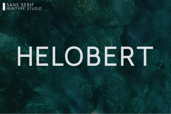 Print on Demand: Helobert Sans Serif Font By Huntype