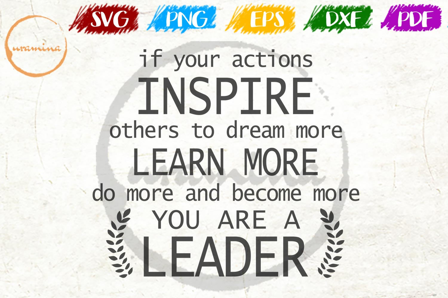 Download Free If Your Actions Inspire Others To Dream Graphic By Uramina for Cricut Explore, Silhouette and other cutting machines.