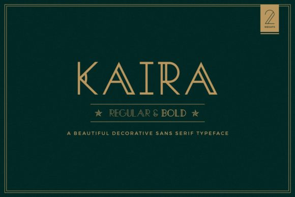 Print on Demand: Kaira Display Font By Swapnil Deshpandey