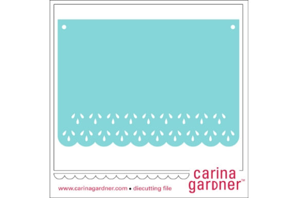 Lacy Flag Banner Graphic Crafts By carina2