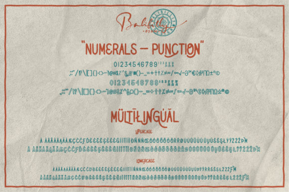Print on Demand: Native Miles Display Font By Balibilly Design - Image 6