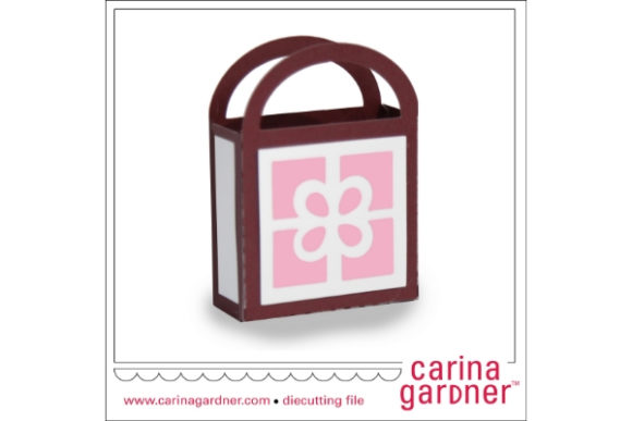 Download Free Present Favor Bag Graphic By Carina2 Creative Fabrica for Cricut Explore, Silhouette and other cutting machines.