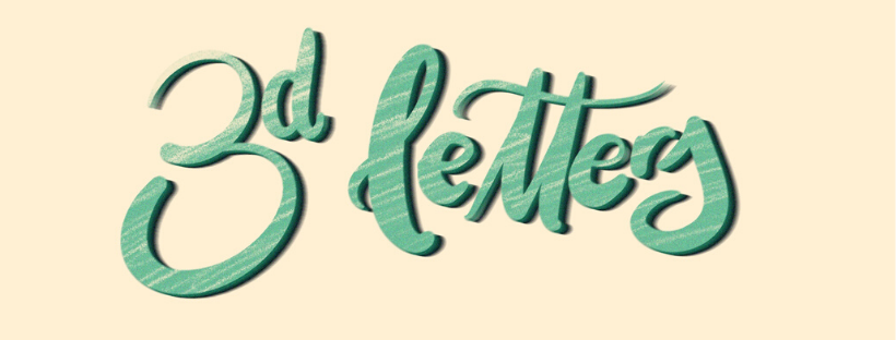 Procreate Tutorial how to create 3D lettering on your ipad