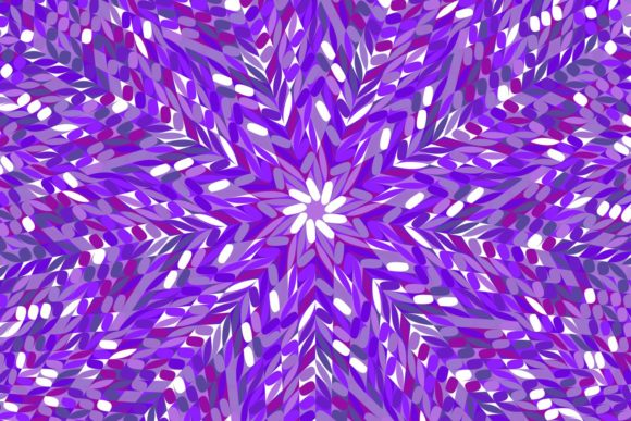 Purple Circular Pattern Background Graphic Patterns By davidzydd