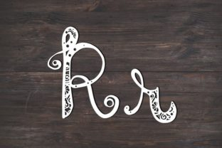 Download Free R Monogram Mandala Graphic By Fortunasvg Creative Fabrica for Cricut Explore, Silhouette and other cutting machines.